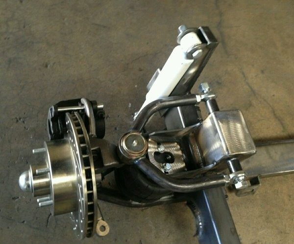 1949 to 1951 Ford Shoebox Independent Front Suspension IFS Kit
