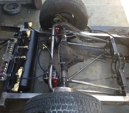 Universal 4 Link Air Rid kit