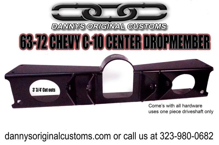 63-72 C-10 Center Dropmember